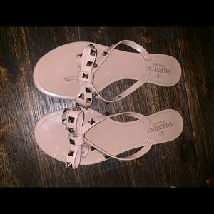 Valentino rock stud sandal